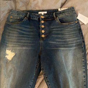 Sts blue Brie crop skinny jeans